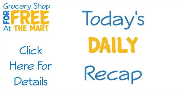 8/9 Daily Video Recap: Great Deals on Palmolive, Glade and Burritos!