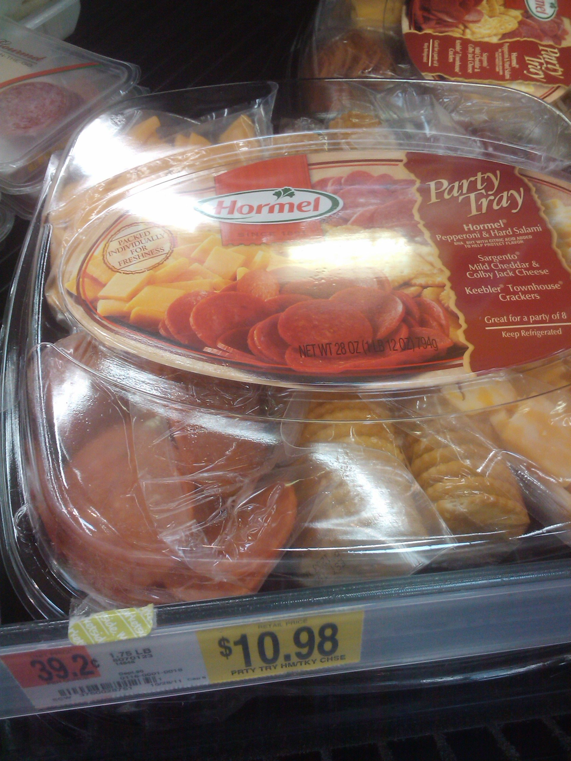 Hormel Party Tray 3-27-12