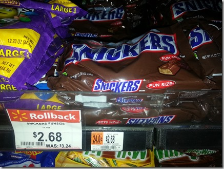 Snickers Candy Just $1.18 at Walmart!