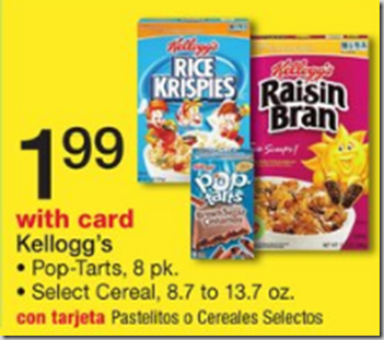 Walmart Price Match Deal: Kellogg's Cereal Just $1.39!