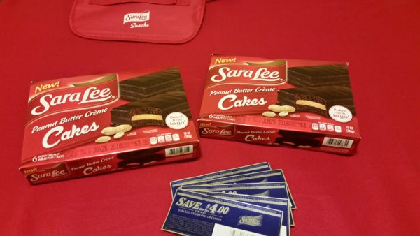 Sara Lee Introduces Peanut Butter Creme Cakes!