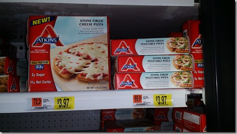 Atkins Frozen Meals Just $.97 at Walmart!