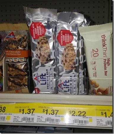 Atkins Bars Just $.37 at Walmart!