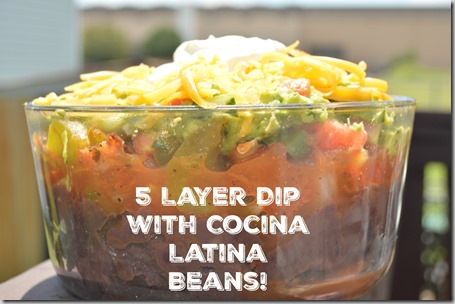 Make Delicious Bean Dip This Weekend with Bush's Cocina Latina Beans!