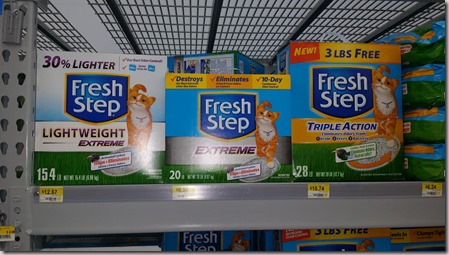 photograph about Fresh Step Printable Coupon identify Cat Clutter Discount coupons and Walmart Matchups!