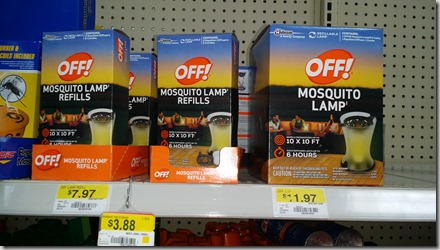 Save $5 on OFF! Mosquito Lamps at Walmart!