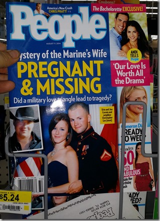 People Magazine for $2.99 at Walmart!