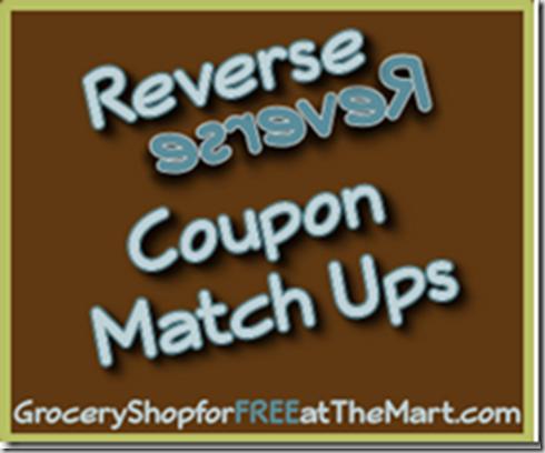 6/26 Reverse Coupon Matchups!