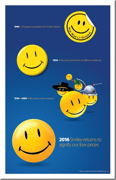 Walmart Announces the Return of Smiley!