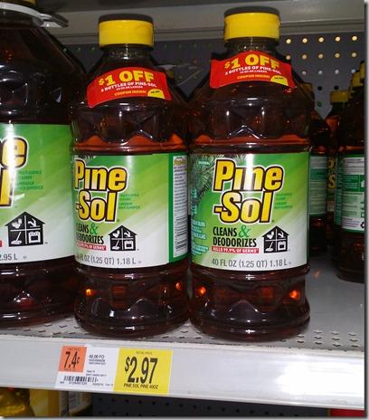 Pine Sol Just $2.22 At Walmart!
