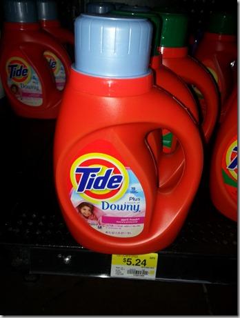 Tide Detergent Just $3.24 At Walmart!