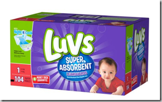 FREE Luvs Diapers with Overage From Walmart.com!