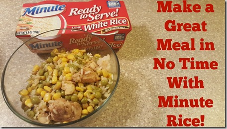 Make a Great Meal in No Time with Minute Rice!