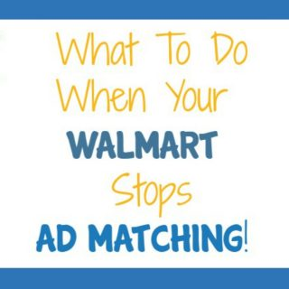 What to Do When Your Walmart Stops Ad Matching!