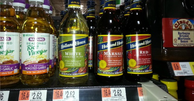 Holland House Cooking Wine Just $1.07 At Walmart!