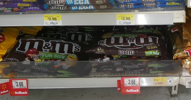 M&M's Halloween Candy Just $1.93 At Walmart!