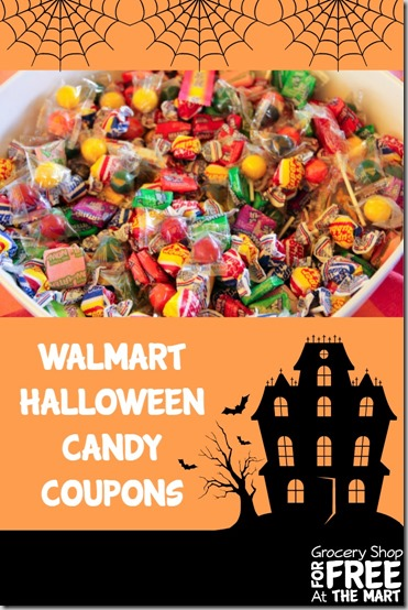 Walmart Halloween Candy Coupon Matchups!