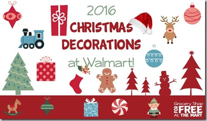 2016 Christmas Decorations At Walmart