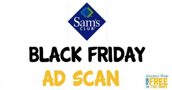 2016 Sam's Black Friday Ad Scan!