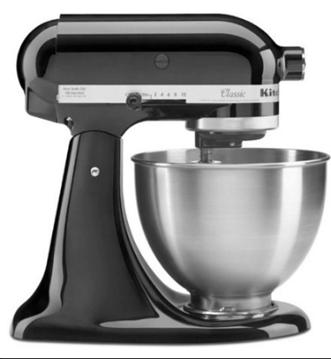 KitchenAid Classic 4.5-Qt Stand Mixer, K45SS for $189.00