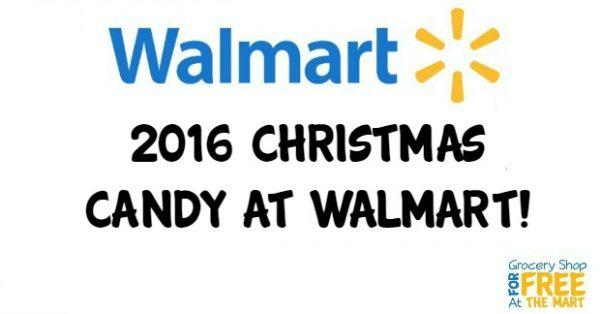 2016 Christmas Candy at Walmart!