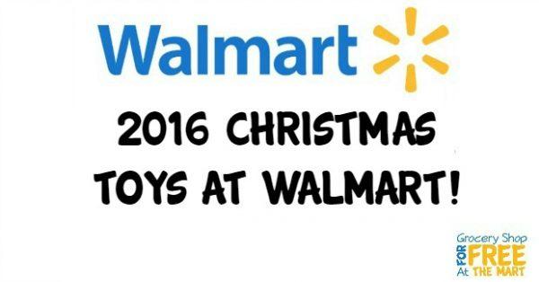 2016 Christmas Toys at Walmart!