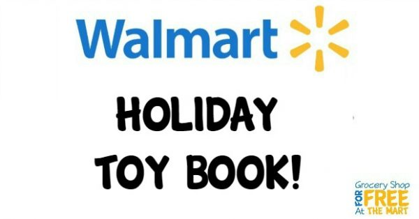 2016 Walmart Holiday Toy Book Ad Scan!