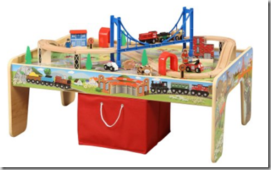 50-Piece Train Set with 2-in-1 Activity Table on Rollback for $37 at Walmart, Down From $59!