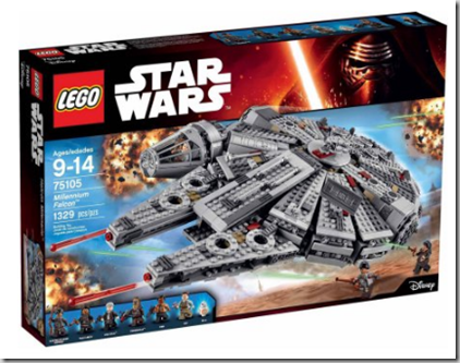 LEGO Star Wars Millennium Falcon for $119, Normally $149.99!