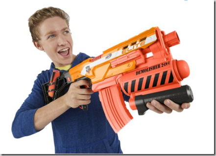 Nerf N-Strike Elite Demolisher 2-in-1 Blaster  Just $20, Normally $39.99!