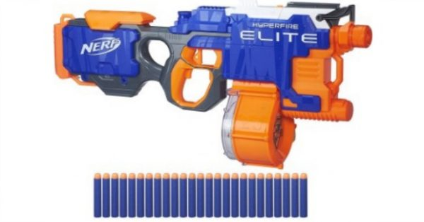 Nerf N-Strike Elite HyperFire Blaster For $34.97, Down From $39.88!