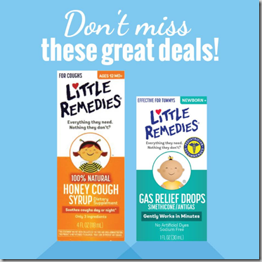 New RollBack Pricing on Little Remedies at Walmart!