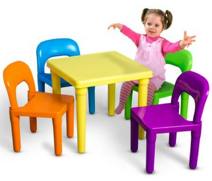 Kids Table & Chairs Set Just $29.95! Down From $80! PLUS FREE Shipping!