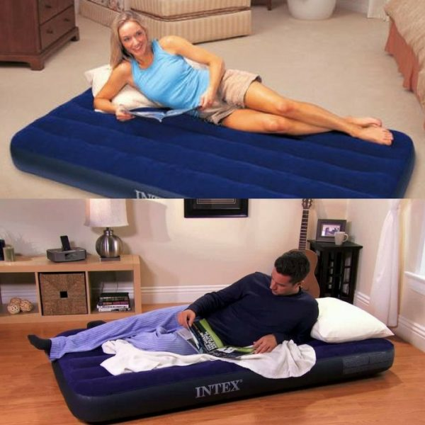 Intex Twin Classic Downy Inflatable Airbed Mattress Just $7.97! Down From $16!