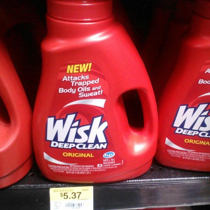 Wisk Detergent Just $4.37 At Walmart!