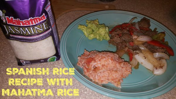 Spanish Rice Recipe With Mahatma Rice!