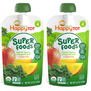 Happy Tot Baby Food Pouches Just $0.94 At Walmart!