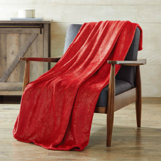Metallic Throw Blanket Just $5! Down From $10!