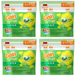Gain Flings Laundry Detergent Just $0.94 At Walmart!