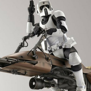 Star Wars: Biker Scout And Speeder Bike Just $9.97! Down From $20!