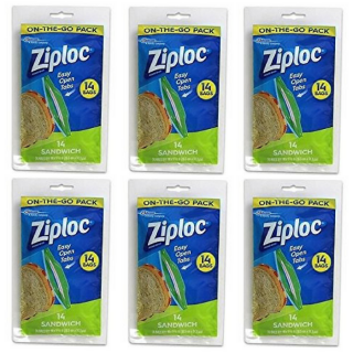 Ziploc On-The-Go Packs Just $0.68 At Walmart!