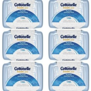 Cottonelle Flushable Cleansing Wipes Just $0.72 At Walmart!