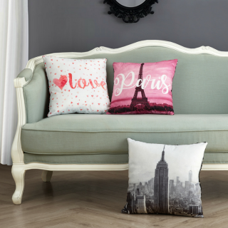Mainstays NYC Throw Pillow Just $5! Down From $16!