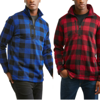 Men's Plaid Sweater Just $6.50! Down From $20!