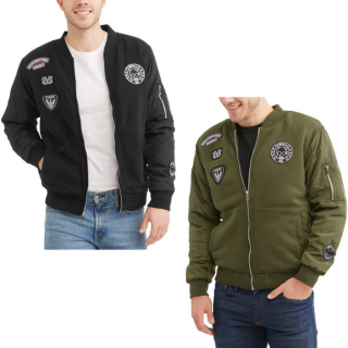 Men's Patches Jacket Just $8! Down From $22!