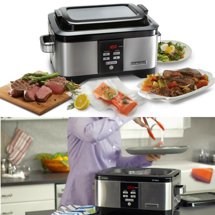 Hamilton Beach 6-Qt. Slow Cooker Just $49.88! Down From $120! PLUS FREE Shipping!