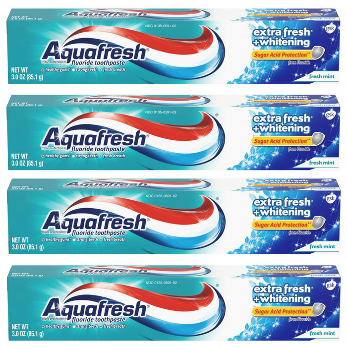 Aquafresh Toothpaste Just $0.73 At Walmart!