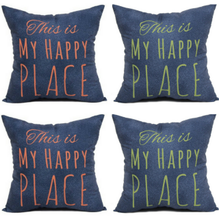 Mainstays Happy Place Pillow Just $5.97!