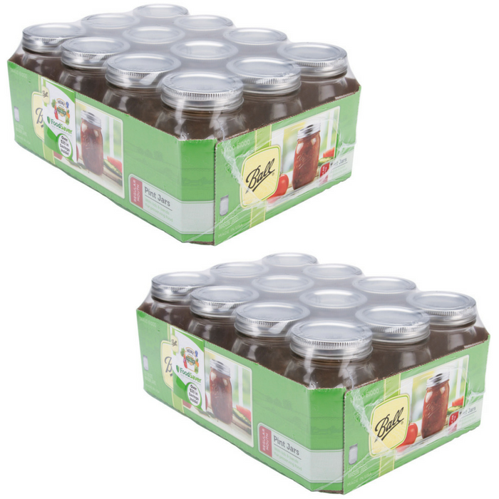 Canning Jar 12-Piece Set