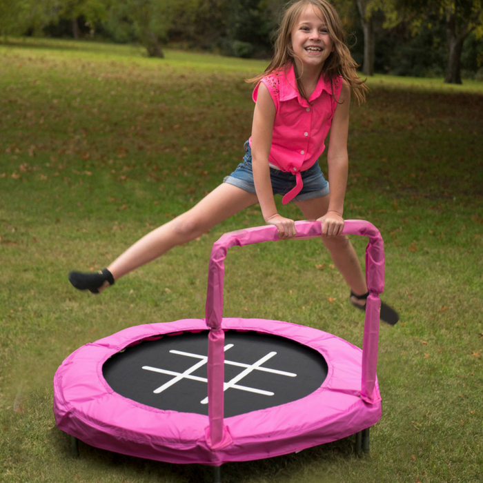 Kids 4-Foot Trampoline